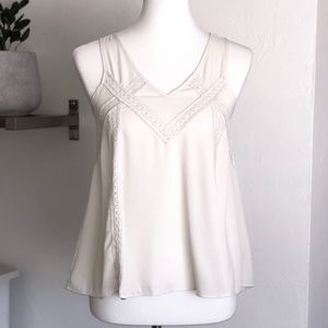 Monteau romantic sleeveless blouse